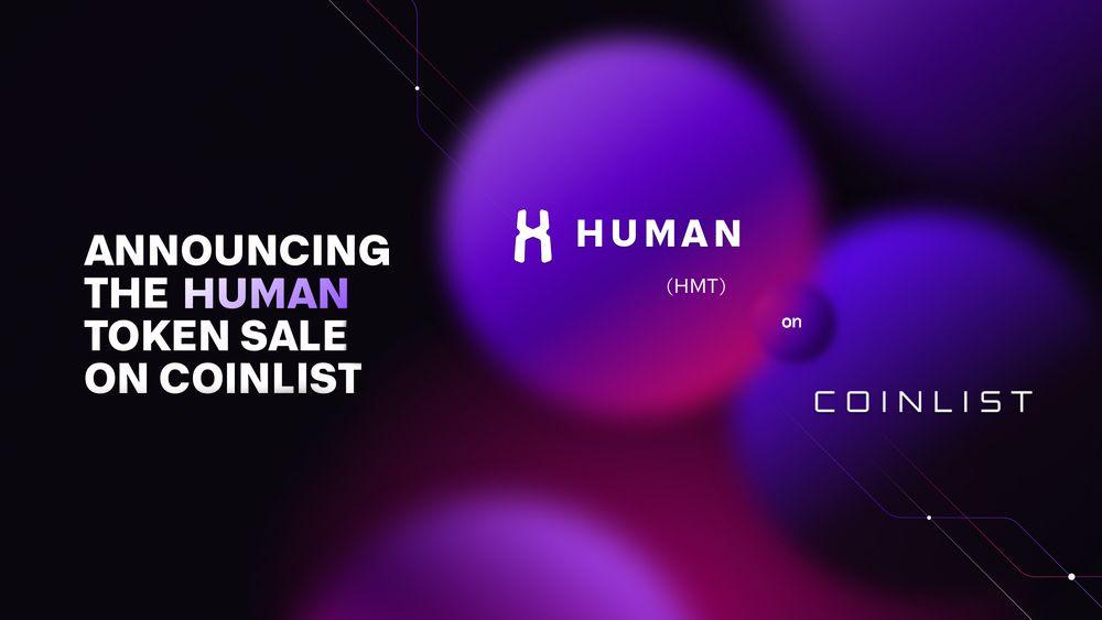 [Coinlist] Announcing the HUMAN Token Sale on CoinList - AZCoin News