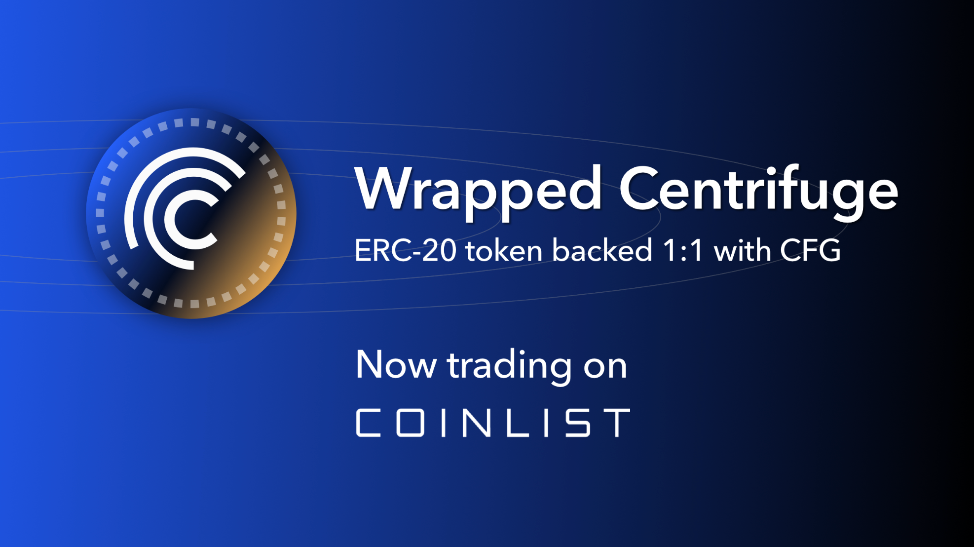 [Coinlist] Trade Wrapped Centrifuge (wCFG) on CoinList - AZCoin News